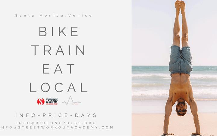 Bike, Train, Eat Local